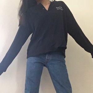 jgalt (brandy) light navy sweater